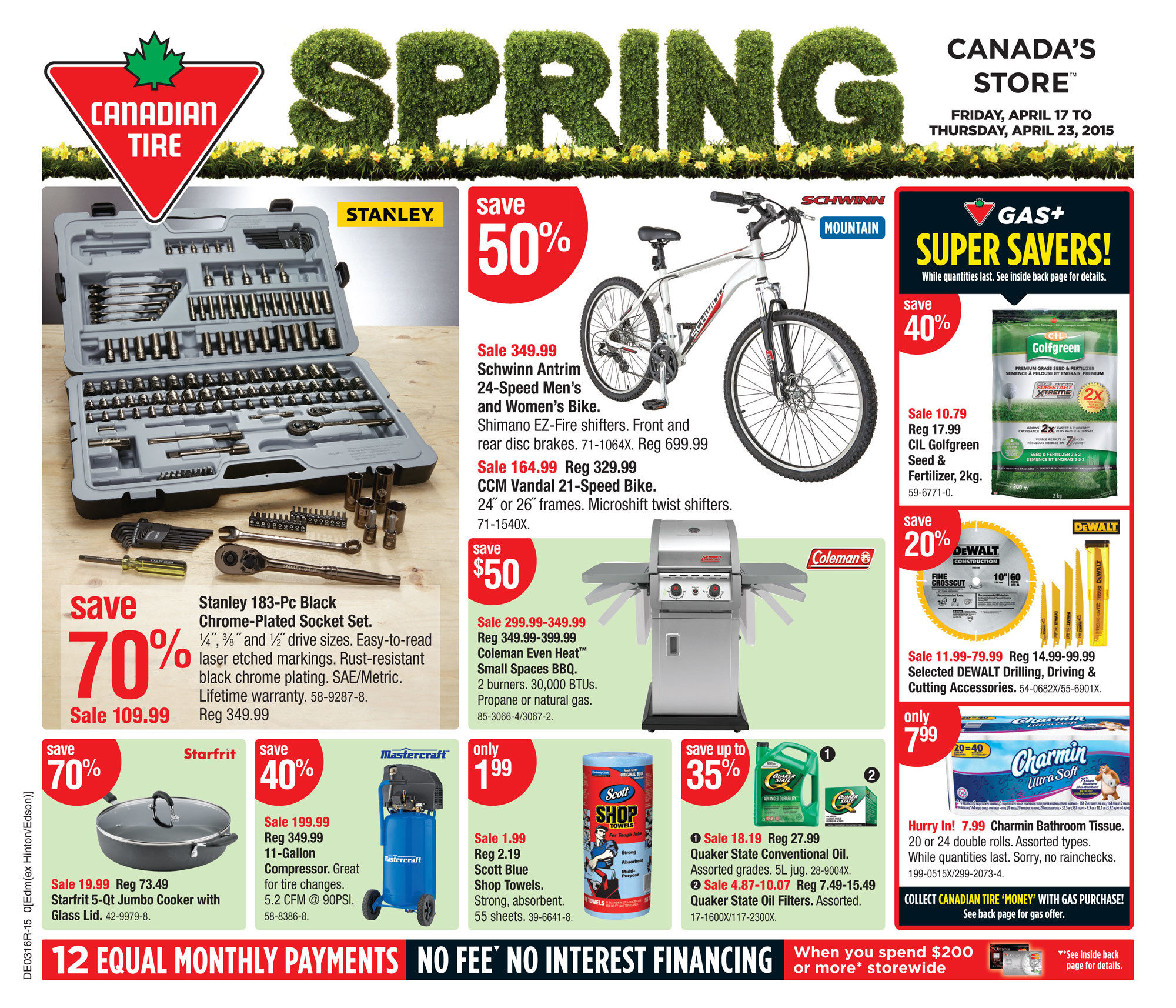 Canadian Tire Weekly Flyer - Weekly Flyer - Apr 17 – 23 - RedFlagDeals.com