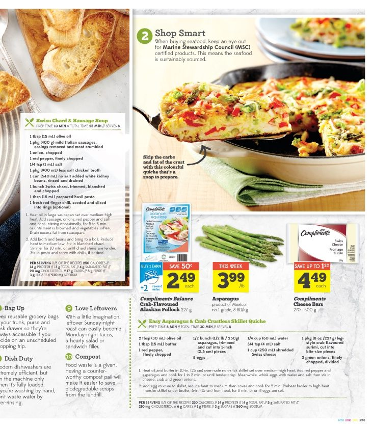 Sobeys Weekly Flyer - Weekly - Better Food For All - Apr 17