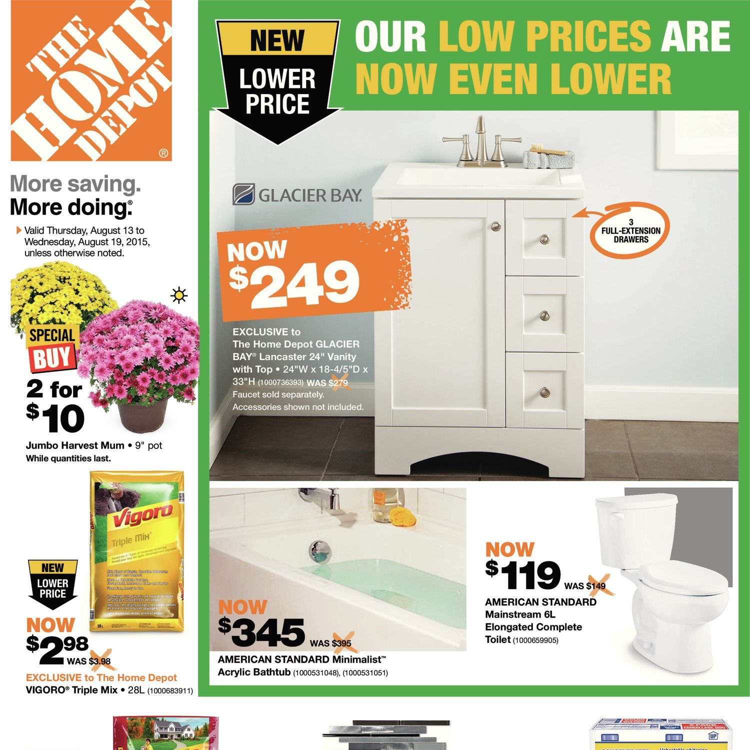 Home Depot Weekly Flyer Weekly Aug 13 – 19 RedFlagDeals