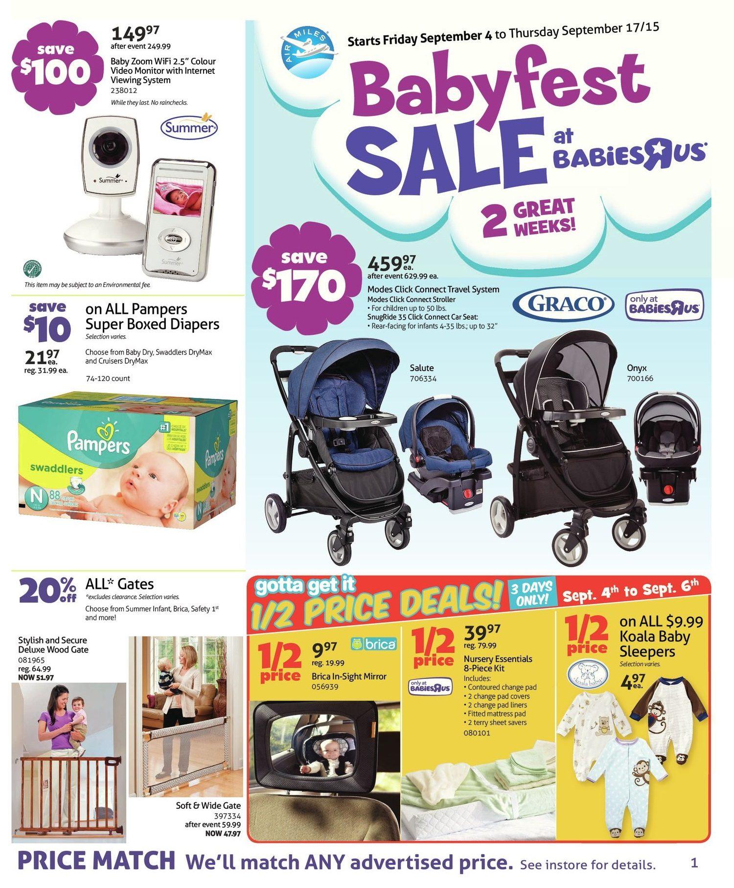 Babies R Us Weekly Flyer 2 Week Sale Babyfest Sep 4 17 Buy Get 20 Chicco Baby Moments Bath Foam Soft Cup