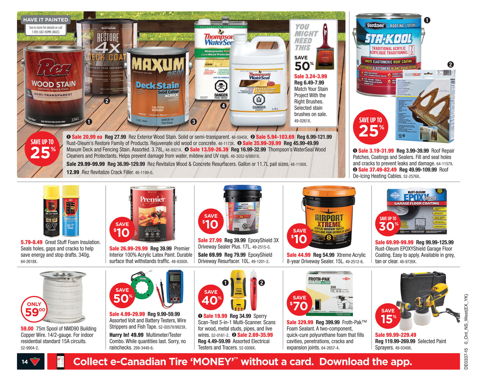canadian tire weekly flyer weekly back to it sep 11 17
