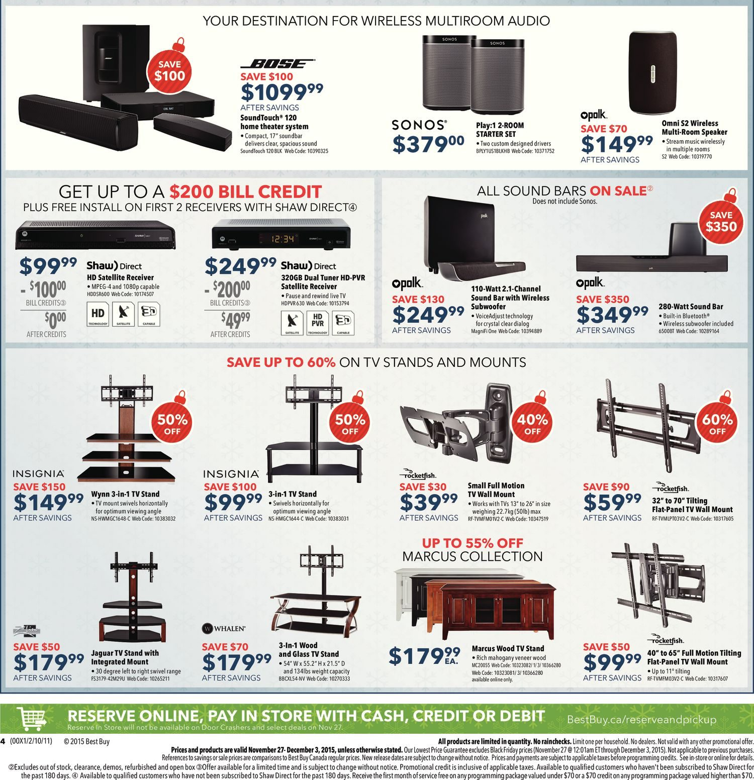 Best buy weekly flyer weekly black friday sale nov 27 dec 3 best buy weekly flyer weekly black friday sale nov 27 dec 3 redflagdeals fandeluxe Gallery