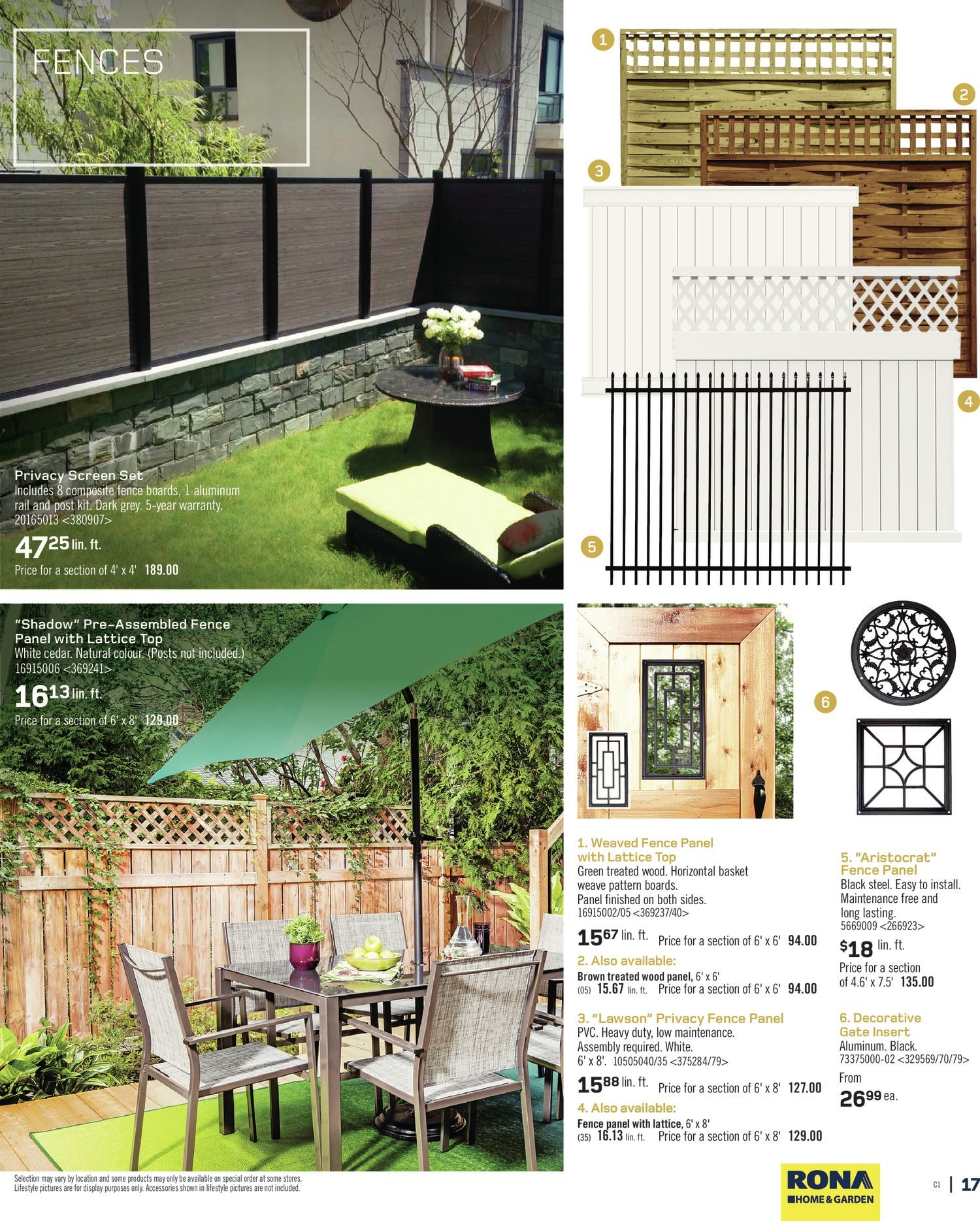 Rona weekly flyer home garden spring 2016 apr 7 13 rona weekly flyer home garden spring 2016 apr 7 13 redflagdeals baanklon Images