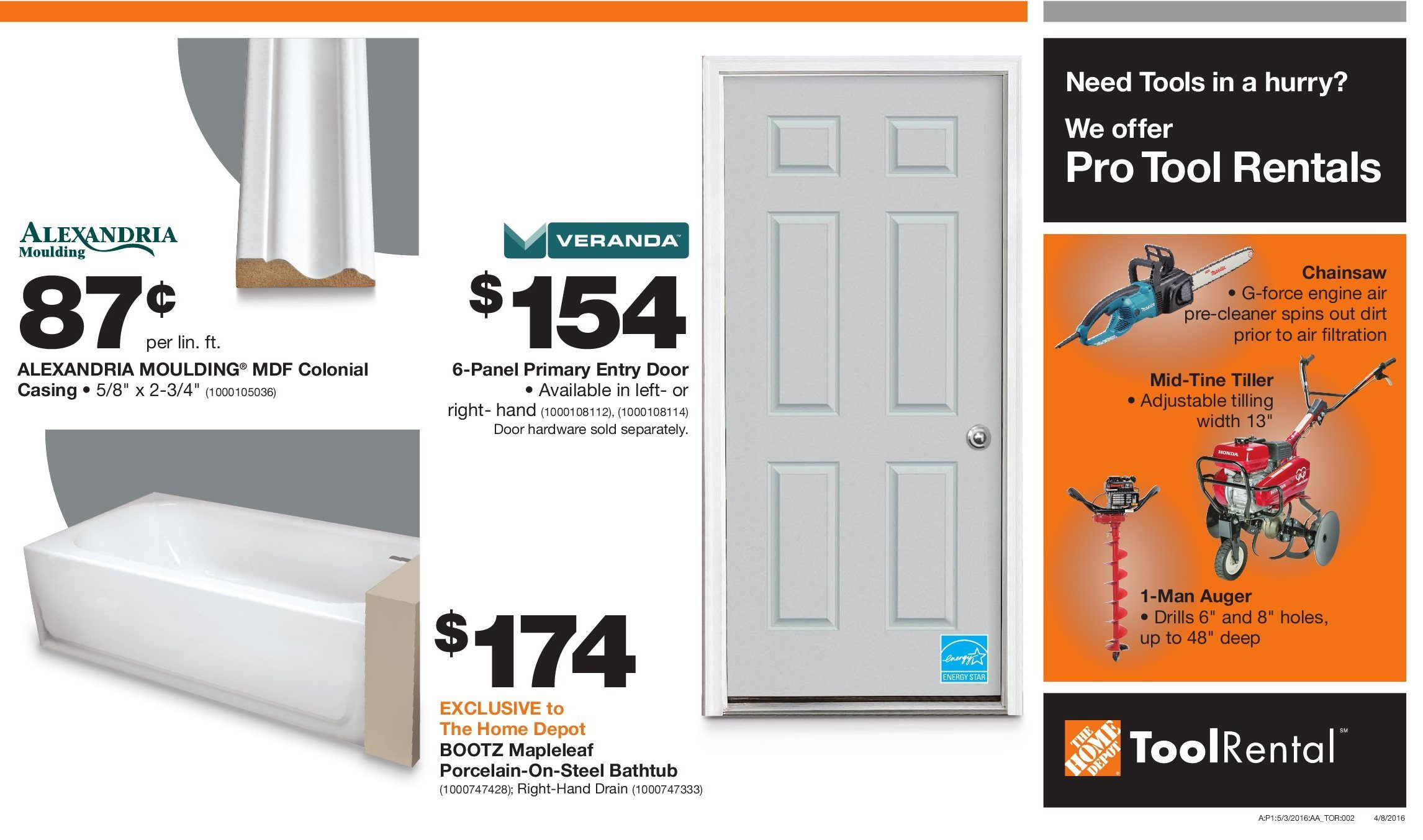 Home Depot Weekly Flyer Pro Savings May 3 – 16 RedFlagDeals
