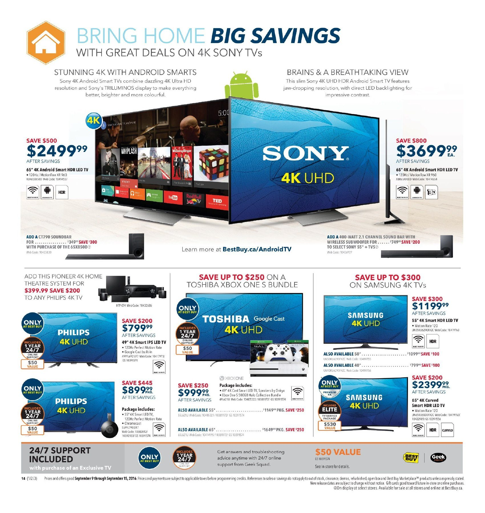 Best Buy Weekly Flyer Laptops Youll Love Sep 9 15 Streamer With 3x Airplay Ce Pro On Installing Outdoor Wiring Speakers