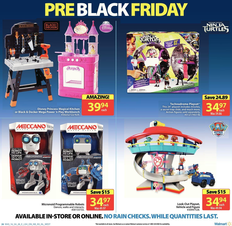 Walmart Weekly Flyer Pre Black Friday Nov 17 23 Mens Biore White Energy Body Foam Refill 700ml