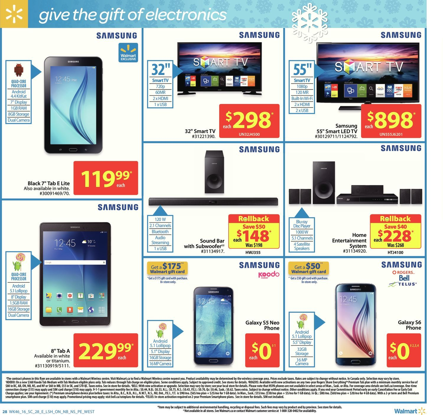 Walmart Weekly Flyer - Supercentre - Everything Holiday - Dec 8 – 14 - RedFlagDeals.com
