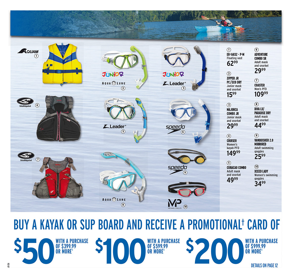 Atmosphere Weekly Flyer 2 Weeks Of Savings Jun 21 Jul 4 Snorkeling Set Capri Adult Combo