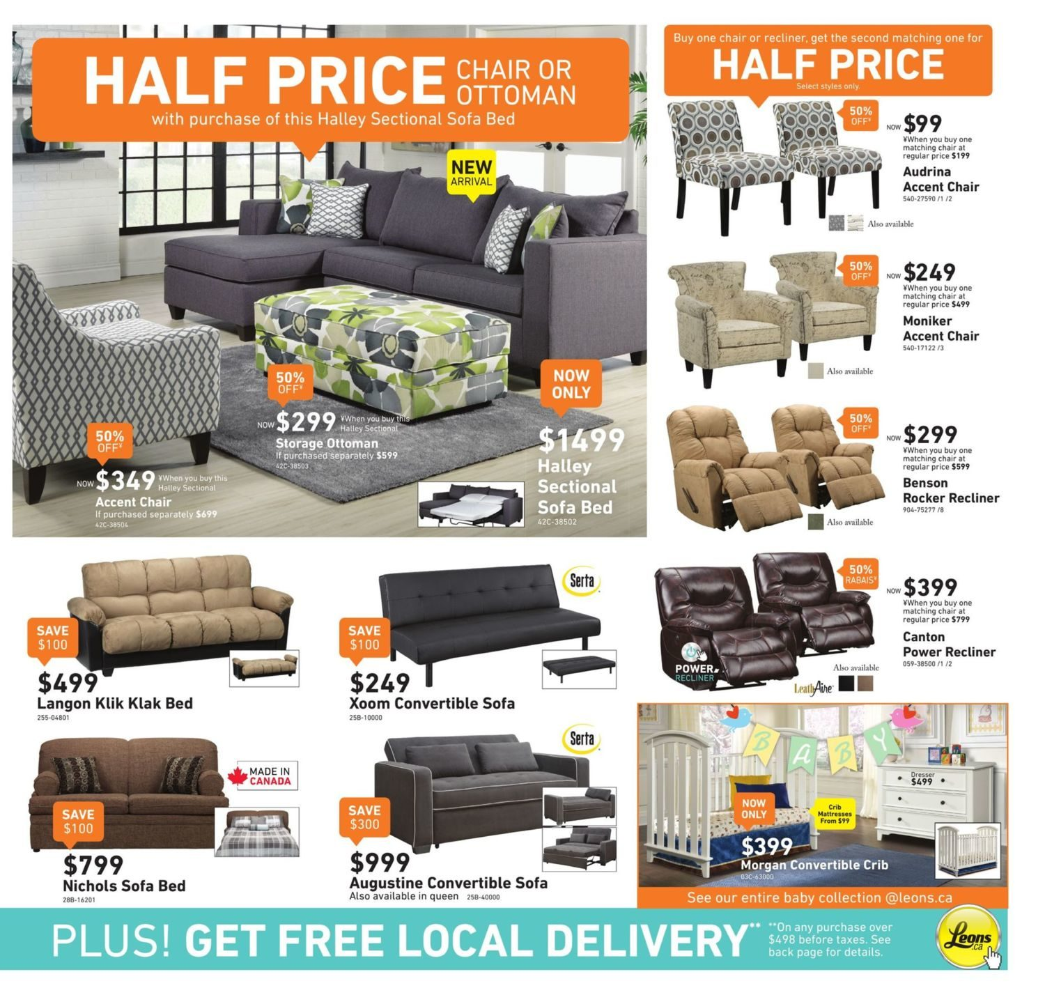 Leon s Weekly Flyer Part of the Family Half Price Sale Jul
