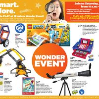 Toys R Us - 2 Great Weeks! - Wonder Event Flyer