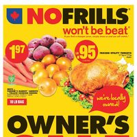 No Frills - Weekly - Owner's Sale Flyer