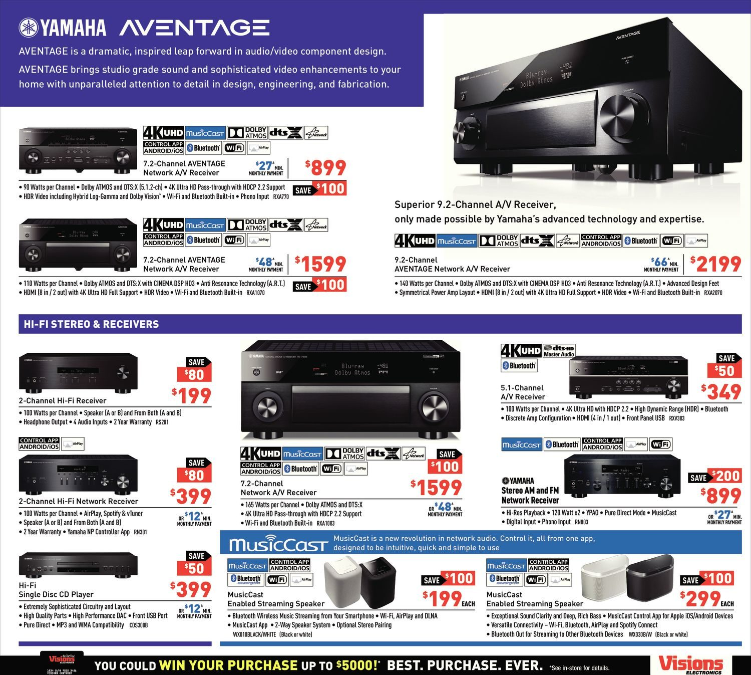 visions electronics weekly flyer weekly sights u0026 sounds for
