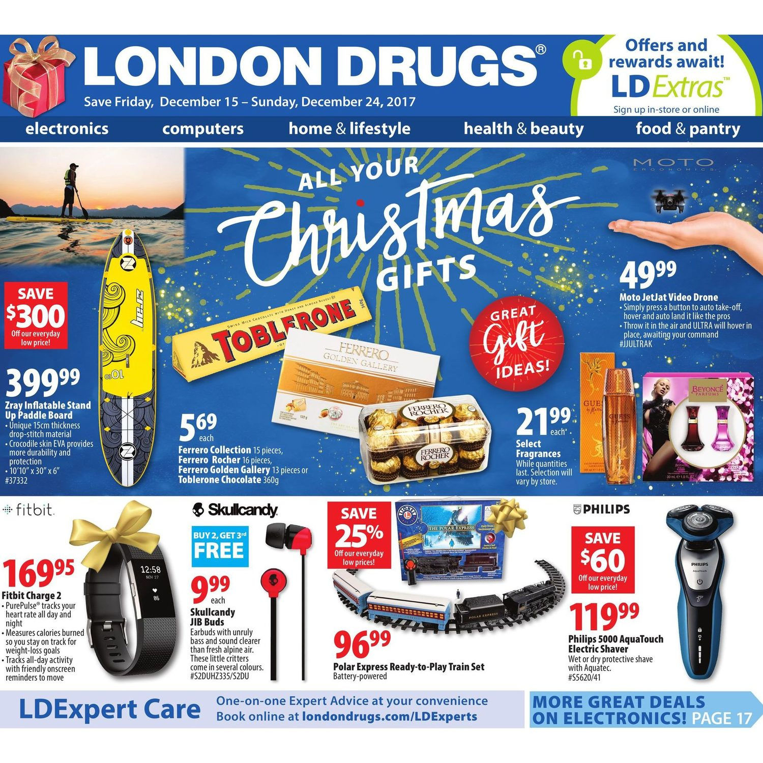 London Drugs Weekly Flyer All Your Christmas Gifts Dec 15 24 Head Ampamp Shoulder Sampo Clean And Balanced 480 Ml