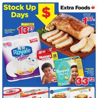 Extra Foods - Weekly Specials - Stock Up Days Flyer