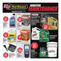 PartSource - Winter Maintenance Flyer