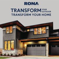 Rona - Transform Your Outdoor, Transform Your Home Flyer