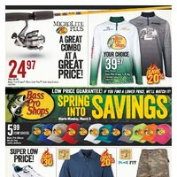 Bass Pro Shops - Spring Into Savings Flyer
