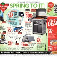 Canadian Tire - Weekly - Spring To It! Flyer