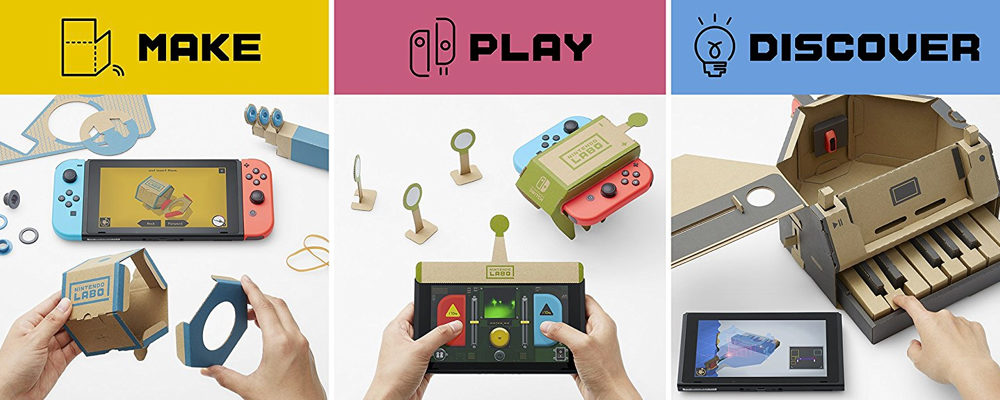 Nintendo Labo Variety Kit Review: An Imaginative Fun Experience For Kids