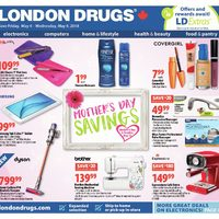 London Drugs - 6 Days of Savings - Mother's Day Savings Flyer