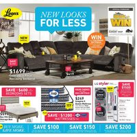Leon's - Part of the Family - New Looks for Less Flyer