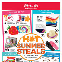 - Weekly - Hot Summer Steals Flyer