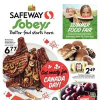 Safeway - Weekly - Get Ready For Canada Day! Flyer