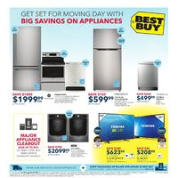Best Buy - Weekly - Big Savings on Appliances Flyer