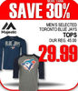 Majestic Men's Toronto Blue Jays Tops