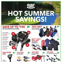 Golf Town - Hot Summer Savings! Flyer