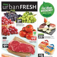 - Urban Fresh - Get More Weekend! Flyer
