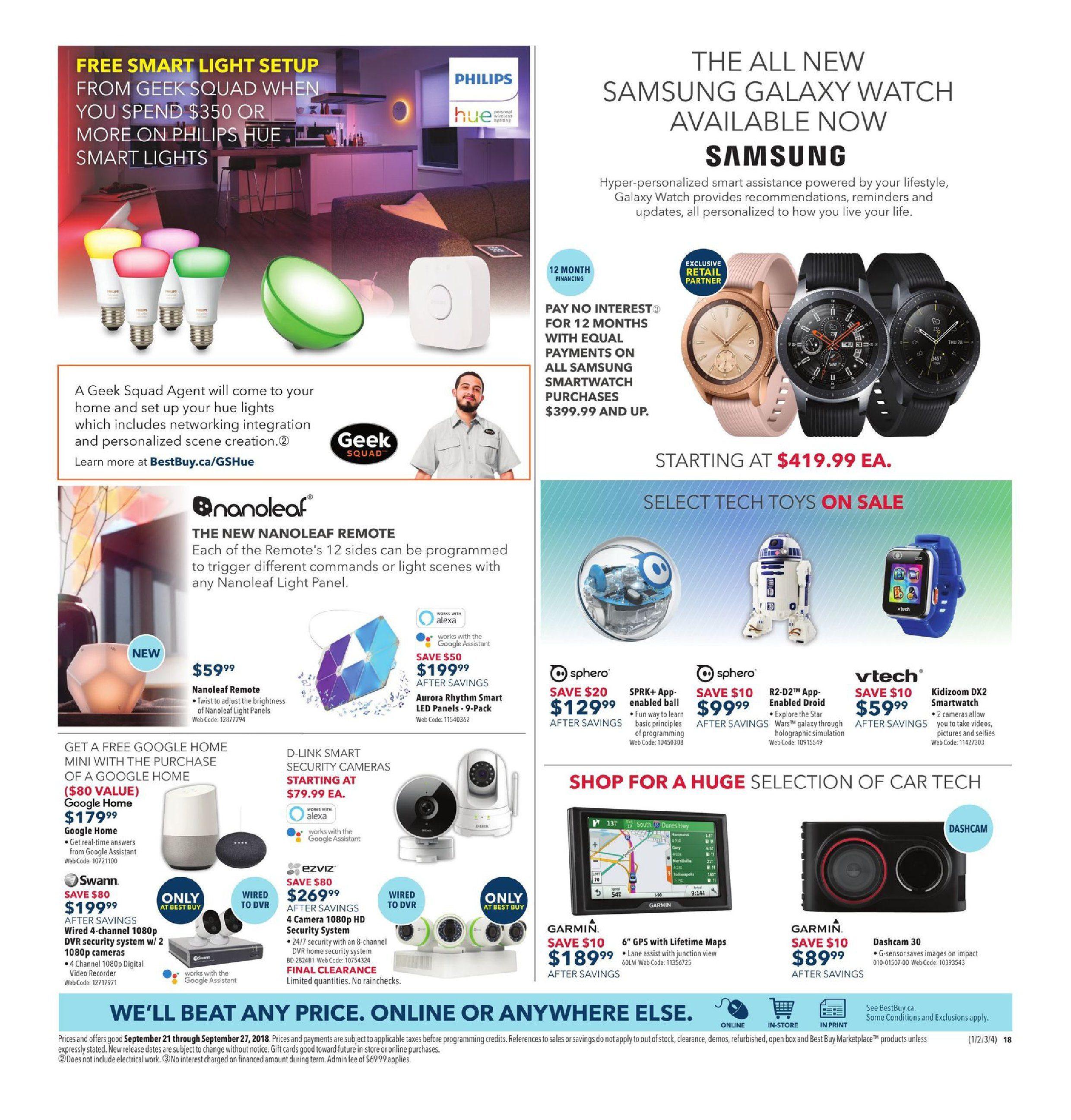 Best Buy Weekly Flyer - Weekly - Bring Home Galactic Savings - Sep