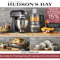 - Weekly - Fall Savings For The Kitchen Flyer