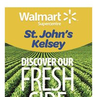 Walmart - St. John's Kelsey Supercentre - Exclusive Grand Re-Opening Specials Flyer