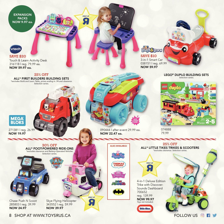 505226eee442 Toys R Us Weekly Flyer - Ultimate Toy Guide 2018 - Nov 2 – 15 ...