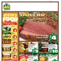 AG Foods - Weekly - Dollar Days! Flyer
