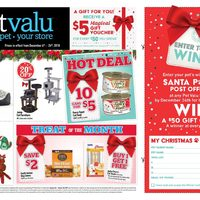 Pet Valu - Holiday Savings Flyer