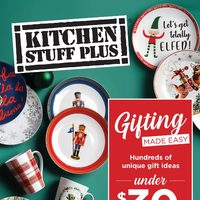 Kitchen Stuff Plus - Gifting Made Easy Flyer