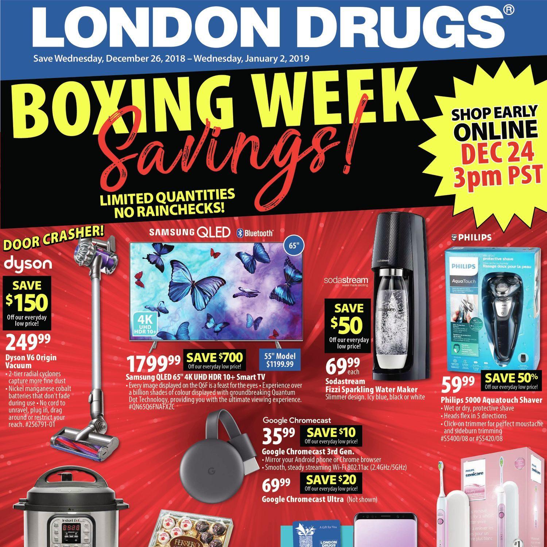 London Drugs Weekly Flyer - Weekly - Boxing Week Savings - Dec 26