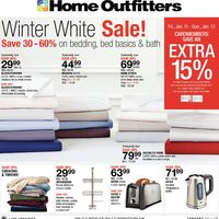 Home Outfitters - Winter White Sale! Flyer