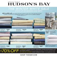 The Bay - Weekly - The Winter White Sale Flyer