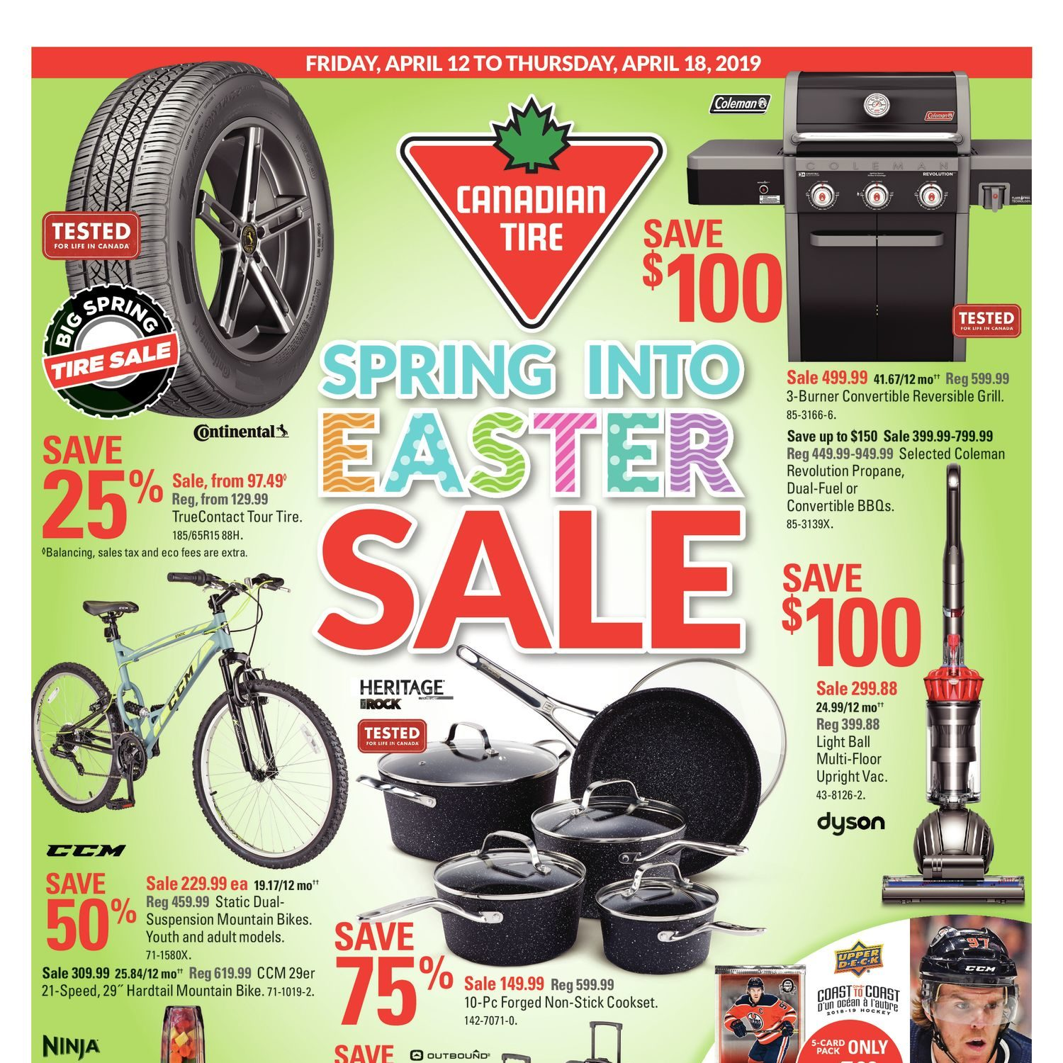 Canadian Tire Weekly Flyer - Weekly - Spring Into Easter Sale - Apr