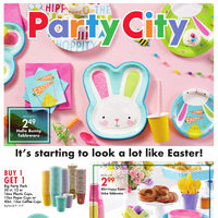 Party City - It's Starting To Look A Lot Like Easter! Flyer