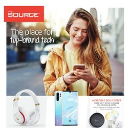 The Source - 2 Weeks of Savings - The Place For Top-Brand Tech Flyer