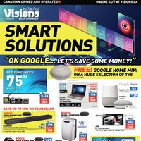 Visions Electronics - Weekly - Smart Solutions Flyer