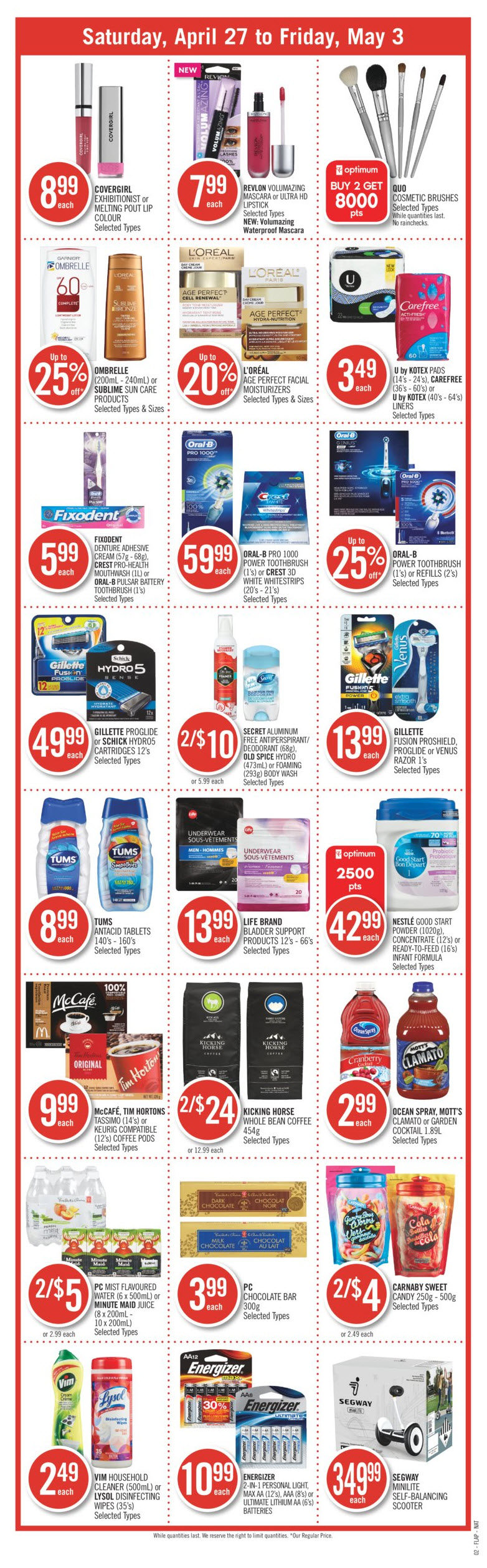 Shoppers Drug Mart Weekly Flyer Weekly Apr 27 May 3