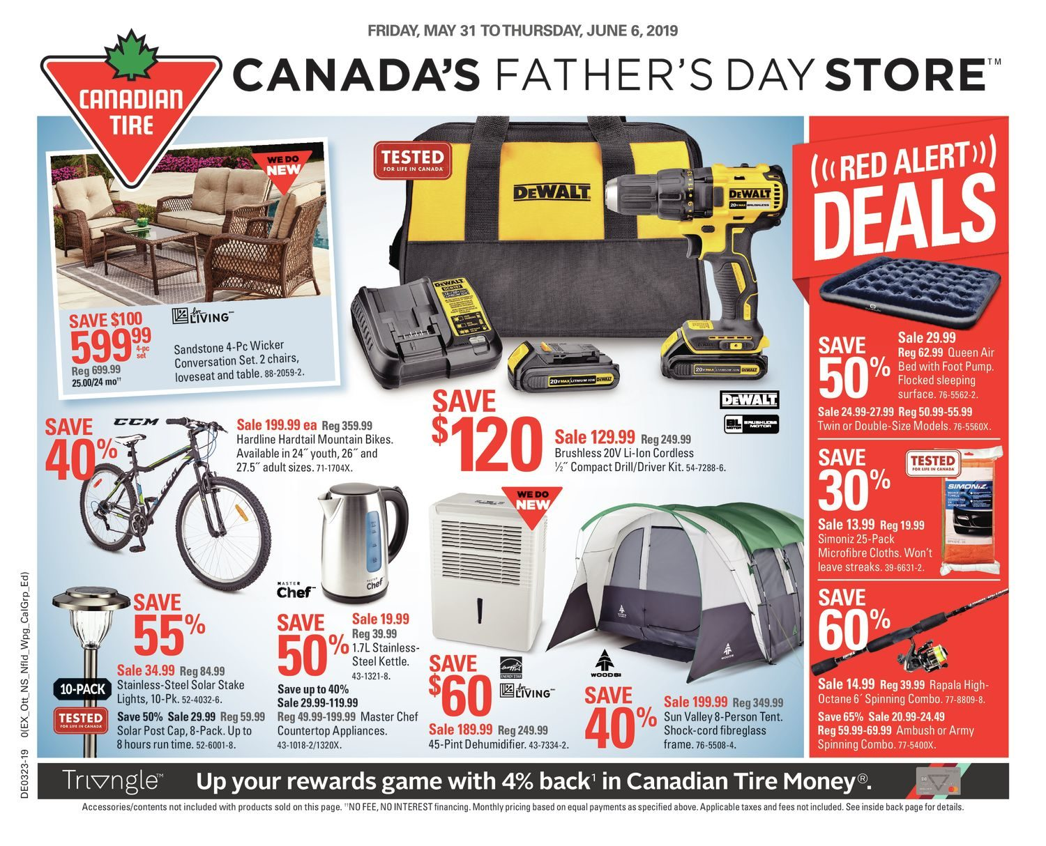 Fabulous Canadian Tire Weekly Flyer Weekly Canadas Fathers Day Machost Co Dining Chair Design Ideas Machostcouk