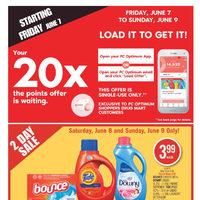 Shoppers Drug Mart Flyer Roundup: 20x PC Optimum Points Until June 9