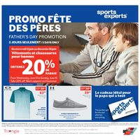 Sports Experts - Father's Day Promotion - 5 Days Only! Flyer