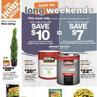 - Weekly - Save On Long Weekends Flyer